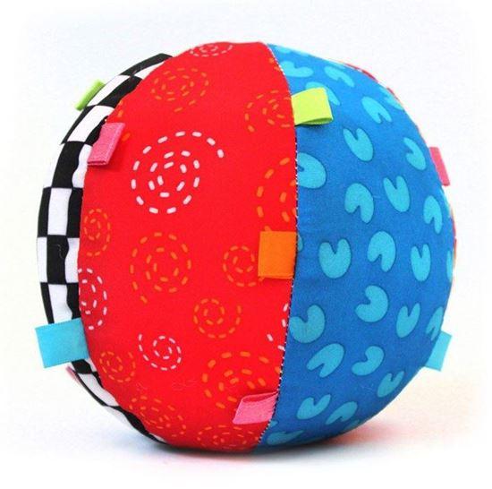 Мягкий мяч-погремушка