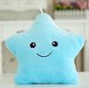 Подушка-звездочка голубая