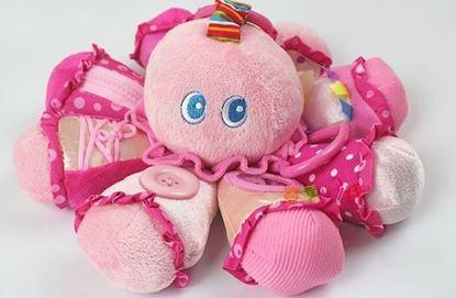 Розовый подвесной осьминог