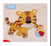 Деревянная рамка-вкладыш тигр