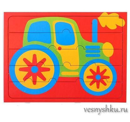 "Макси-пазлы для малышей ""Трактор"""