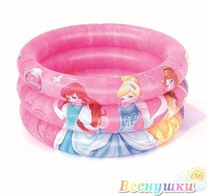 бассейн принцессы надутый
