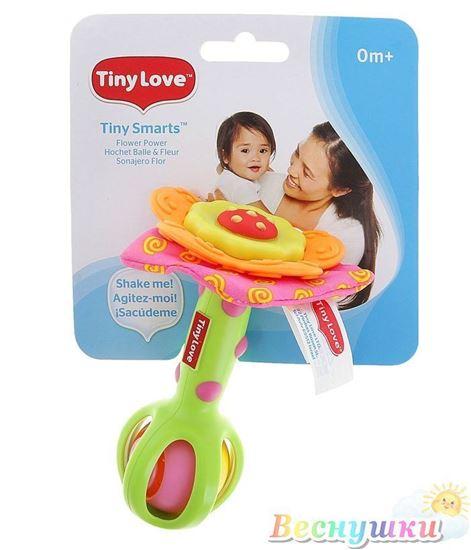 """Развивающая игрушка-погремушка с прорезывателем """"Цветочек"""""""