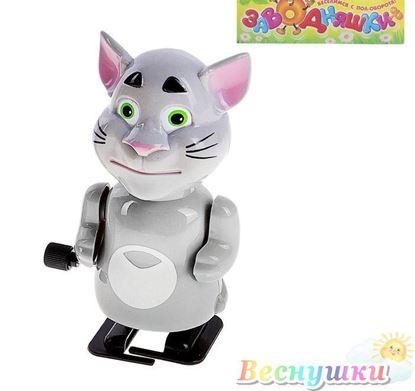 """Заводная интерактивная игрушка """"Котик Том"""""""