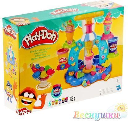 фабрика мороженного пластилин