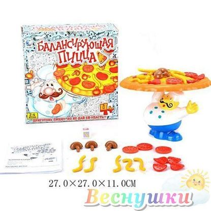 """Игра настольная """"Балансирующая пицца"""""""