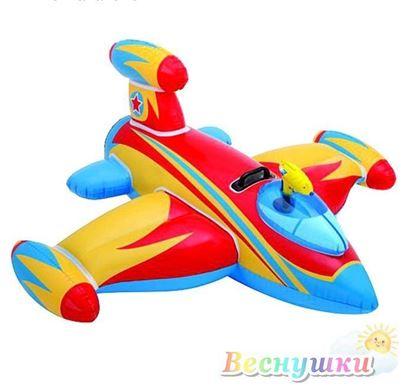 игрушка надувная самолет