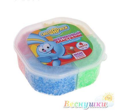 шариковый пластилин смешарики