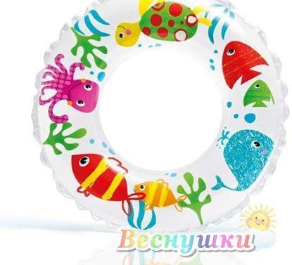 круг для плавания яркий слон