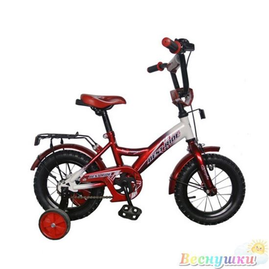 BR12 Велосипед 2-х колесный 12 дюймов, красный