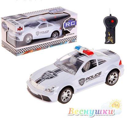 машинка полиция батарейки