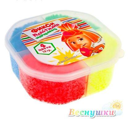 фикси пластилин шарик