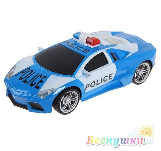 машинка дорожный патруль