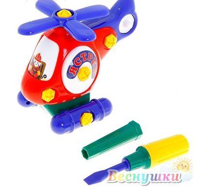 конструктор для малышей вертолет