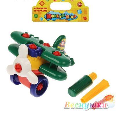 конструктор для малышей самолет