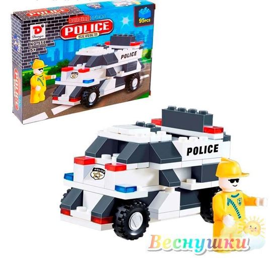 конструктор полицейский патруль