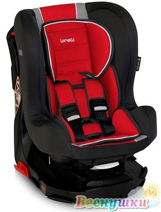 Автокресло Lorelli REVO LUXE 0-18 кг (Красно-серый)