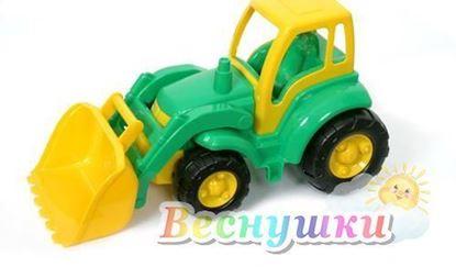 чемпион трактор с ковшом