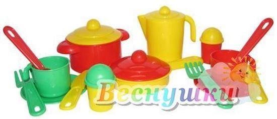 набор посуды настенька