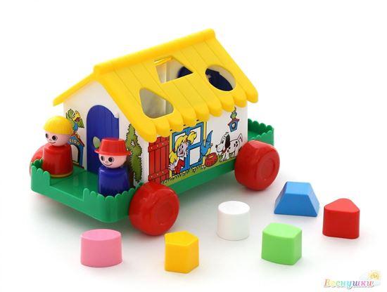 игровой дом в коробке