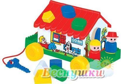 игровой дом в сеточке