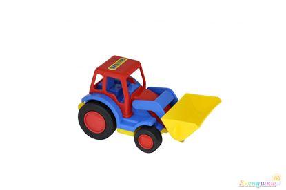 базик трактор погрузчик