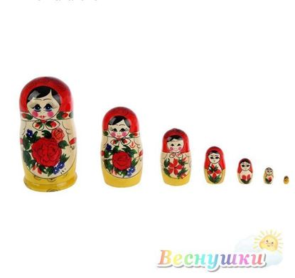 матрешка 7 кукол