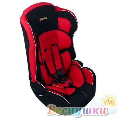 Автокресло ЕДУ-ЕДУ KS-513 Lux, 9-36, красное