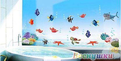 "Наклейки на стену ""Рыбка Немо"""