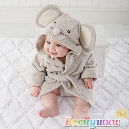 Детский халатик Мышка