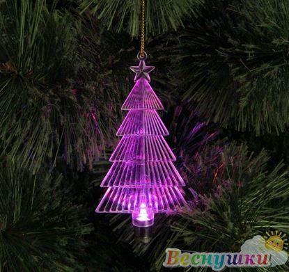 светящаяся елочка 10 см