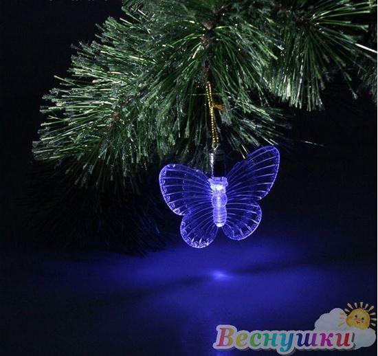 световая бабочка