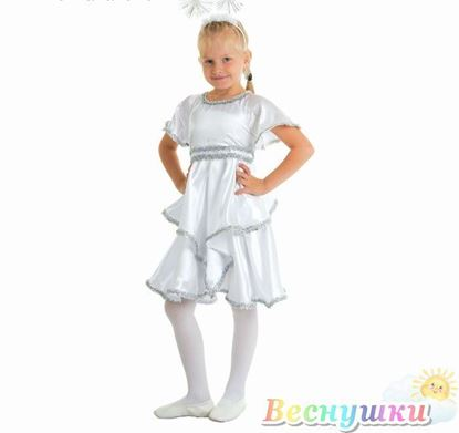 снежинка костюм