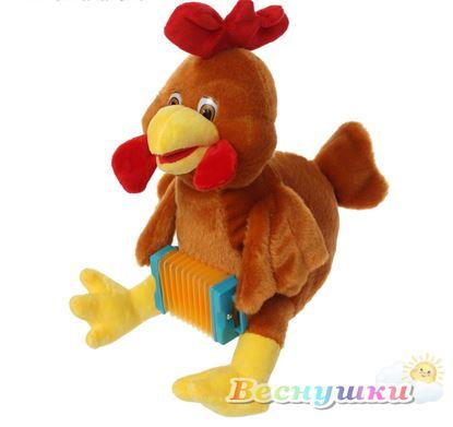 """Мягкая игрушка-символ года """"Петушок с гармошкой"""""""