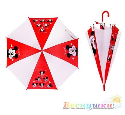 Детский зонт с Микки Маусом полуавтомат
