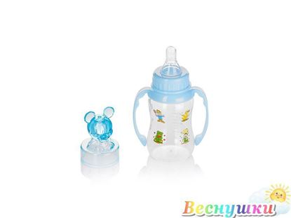 Бутылочка BabyLand с силиконовой соской