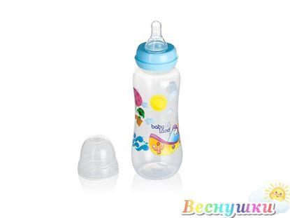 Бутылочка с соской силиконовой, 240 мл