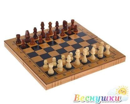 Шашки, шахматы, нарды (дерево)