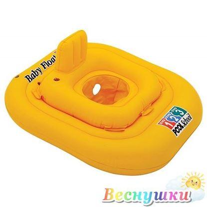 Плотик надувной для детей от 1 до 2 лет