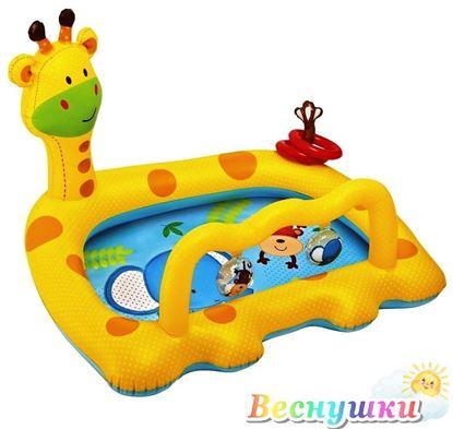 """Бассейн надувной """"Жираф"""", Intex"""