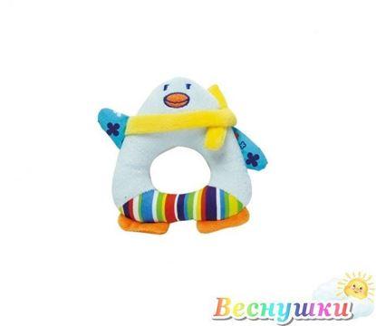 """Мягкая игрушка-погремушка """"Пингвин"""""""